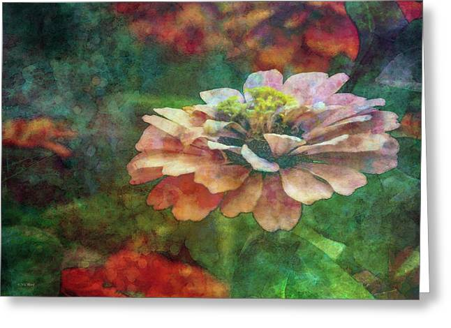 Zinnia Impression 1120 Idp_2 Greeting Card