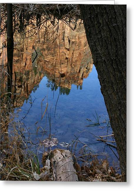 Zion Reflections Greeting Card