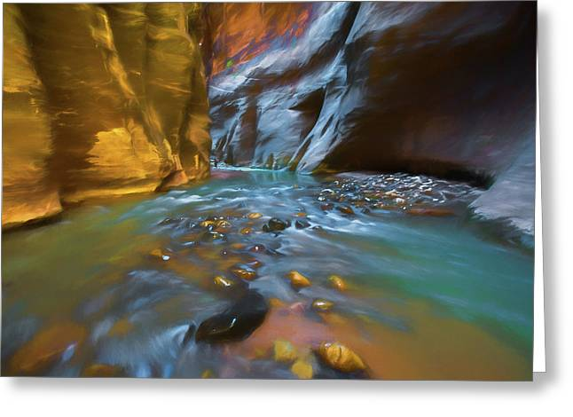 Zion Watercolor Greeting Card