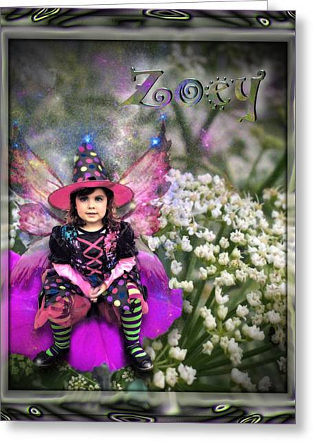 Zoey Greeting Card by Susan Kinney