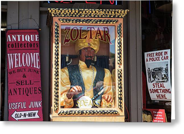 Zoltar Speaks Greeting Card