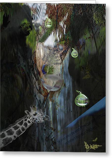 Zoo Friends Greeting Card