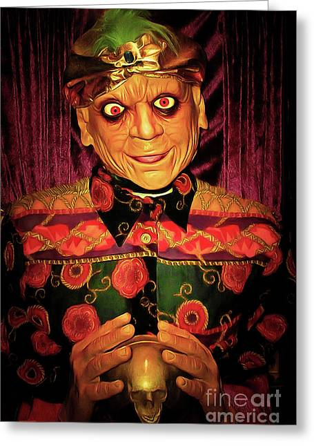 Zultan The Fortune Teller 20161108 Greeting Card by Wingsdomain Art and Photography
