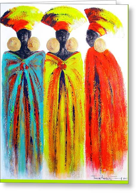 Zulu Ladies Greeting Card