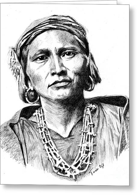 Zuni Governor Greeting Card