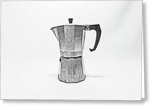 08/05/19 Cafetiere Greeting Card