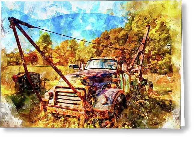 1950 Gmc Truck Greeting Card