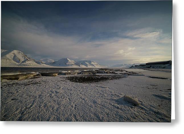 Adventfjorden Greeting Card
