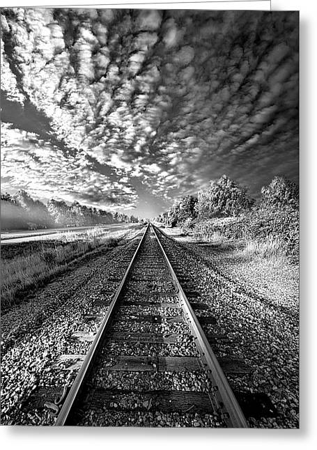 Greeting Card featuring the photograph All The Way Home by Phil Koch