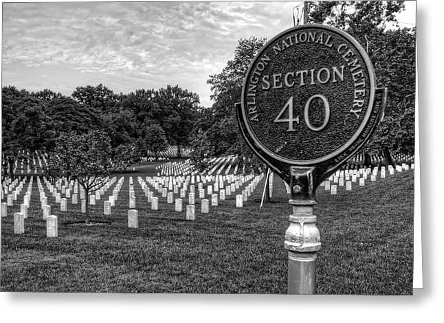 Arlington National Cemtery Greeting Card