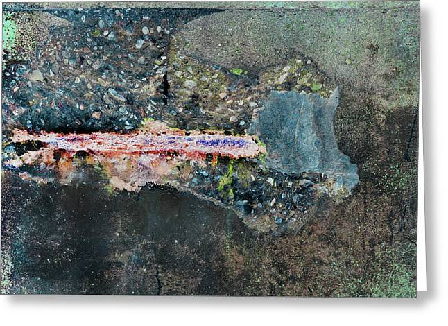 Greeting Card featuring the photograph Art Print Abstract 11 by Harry Gruenert