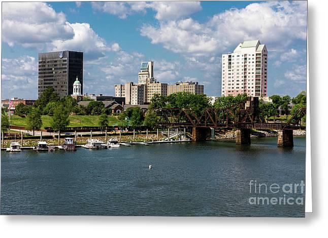 Augusta Ga - Savannah River Greeting Card