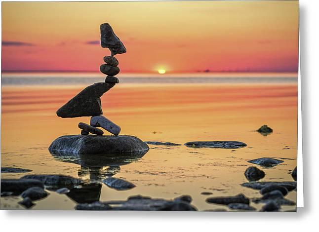 Balancing Art #6-2 Greeting Card
