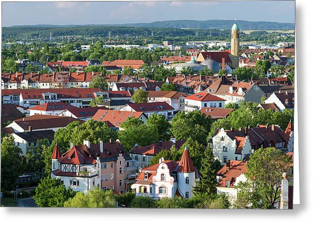 Bamberg In Franconia, A Part Of Bavaria Greeting Card by Martin Zwick