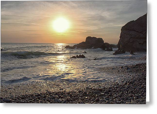 Beach Sunsets Greeting Card