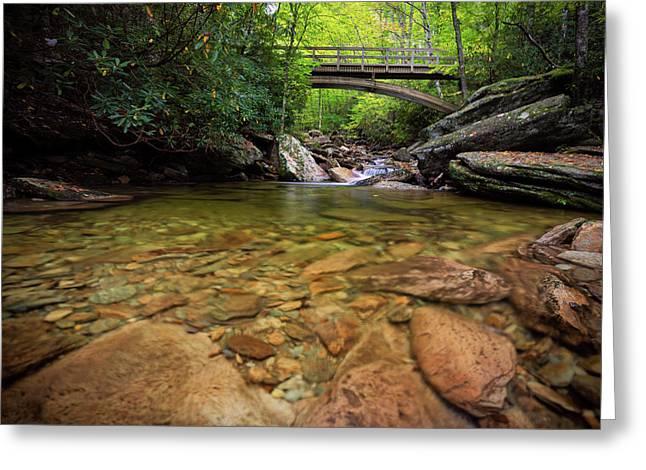 Boone Fork Bridge - Blue Ridge Parkway - North Carolina Greeting Card