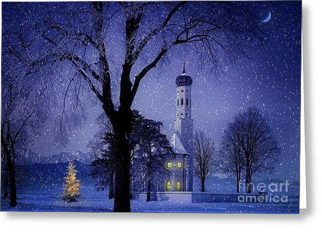 Greeting Card featuring the photograph Christmas Eve by Edmund Nagele
