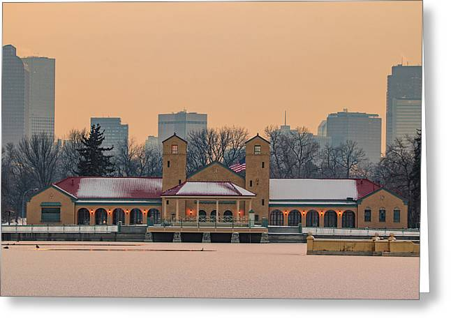 City Park Pavillon Greeting Card