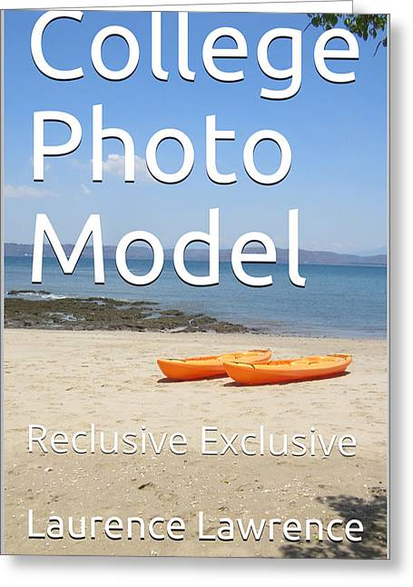 College Photo Model K Greeting Card
