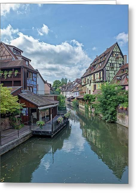 Colmar In France Greeting Card