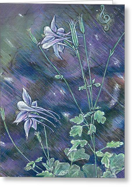 Columbine Song Greeting Card