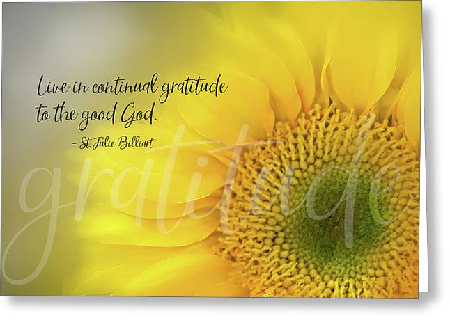 Continual Gratitude Greeting Card