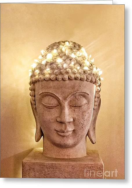 Dawn Buddha Greeting Card