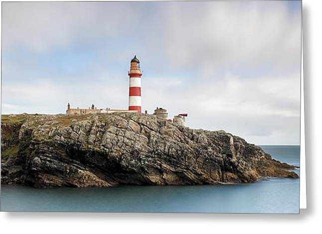 Greeting Card featuring the photograph Eilean Glas Lighthouse - Western Isles by Grant Glendinning