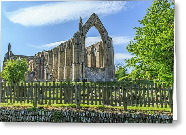 England, North Yorkshire, Wharfedale Greeting Card by Emily Wilson