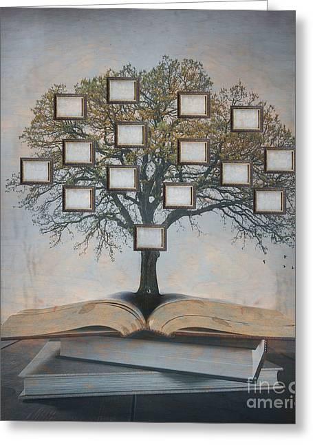 Family Tree, Genealogy Greeting Card