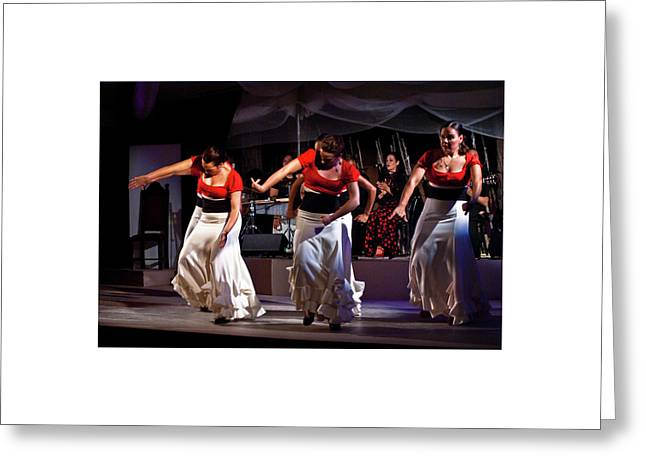 Greeting Card featuring the photograph Flamenco 39 by Catherine Sobredo