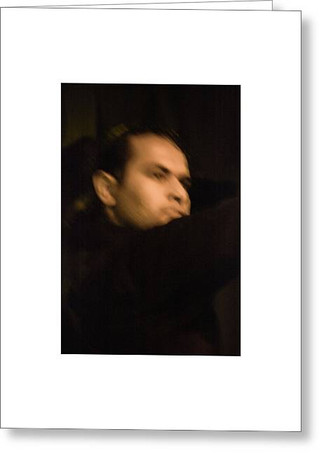 Greeting Card featuring the photograph Flamenco 42 by Catherine Sobredo