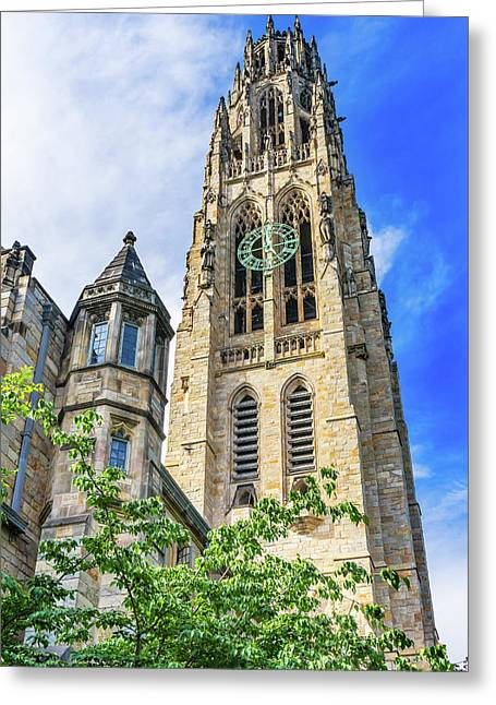 Harkness Tower, Yale University, New Greeting Card