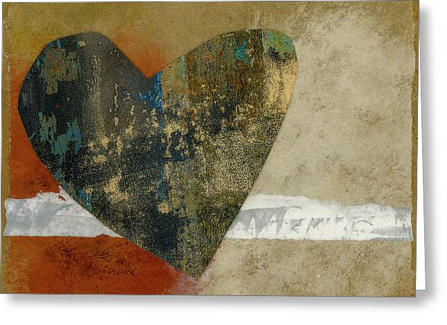 Heart Collage 653 Greeting Card