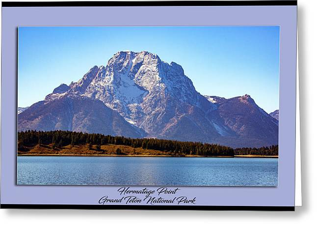 Greeting Card featuring the photograph Hermitage Point by Pete Federico