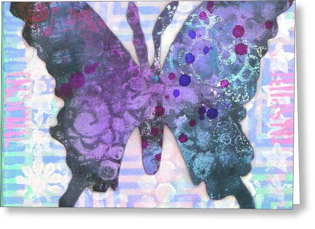 Inspire Butterfly Greeting Card