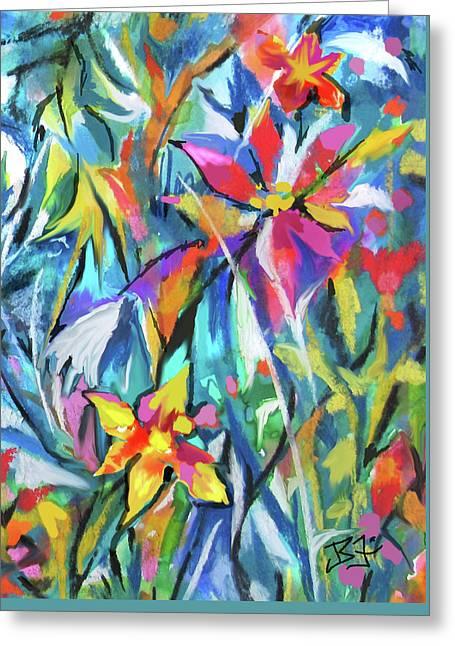 Jungle Garden Greeting Card