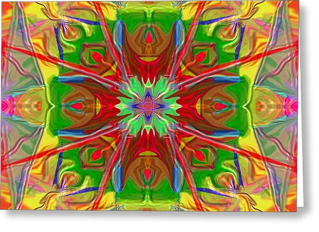 Mandala 12 8 2018 Greeting Card