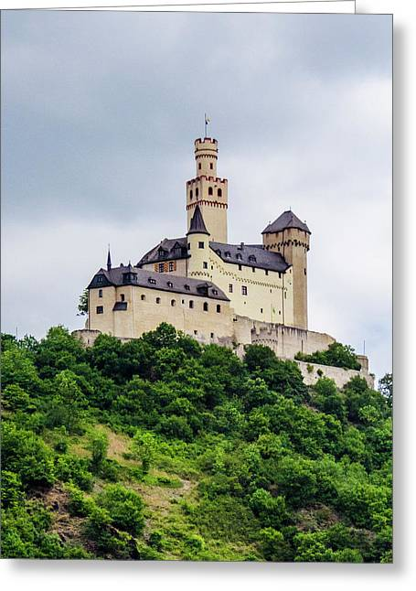 Marksburg Castle - 2 Greeting Card