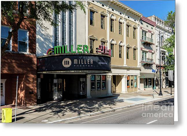 Miller Theater Augusta Ga Greeting Card