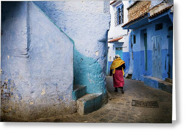 Greeting Card featuring the photograph Morocco by Nicole Young