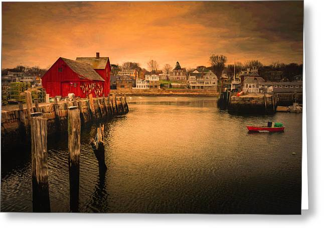 Greeting Card featuring the photograph Motif No. 1 En Chiaroscuro by Thomas Gaitley