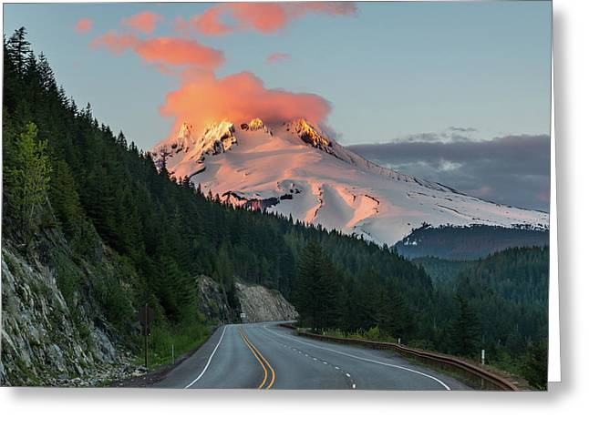 Mount Hood Greeting Card