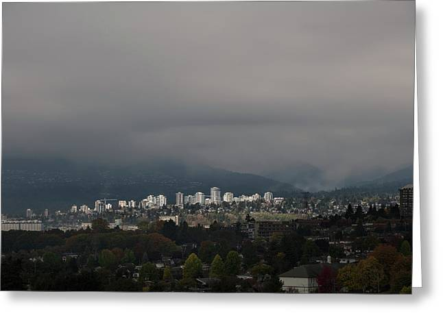 North Vancouver  Greeting Card