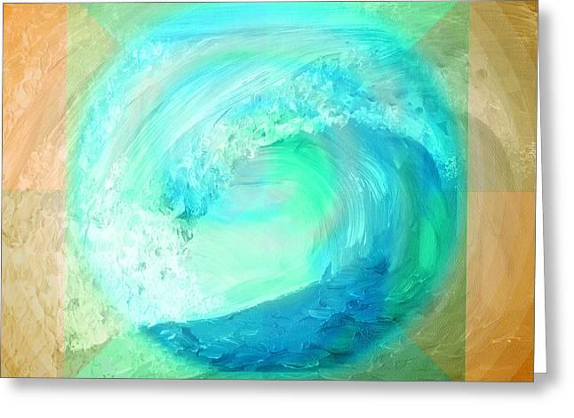 Ocean Earth Greeting Card