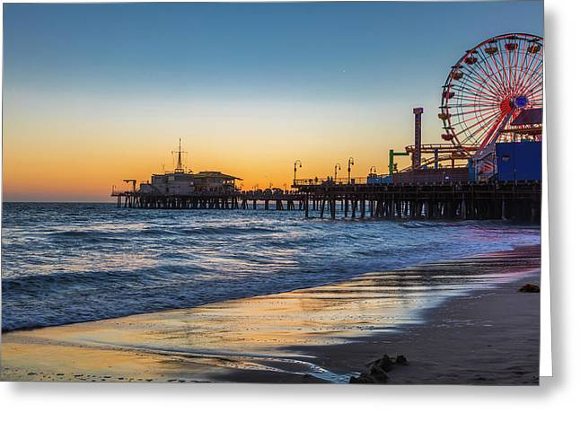 Pacific Park On The Pier Greeting Card