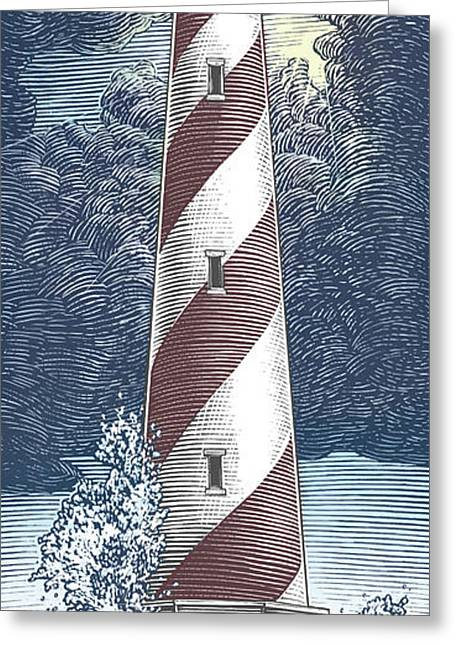 Peace In The Storm Greeting Card