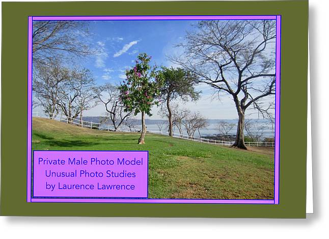 Private Photo Model Bn Greeting Card