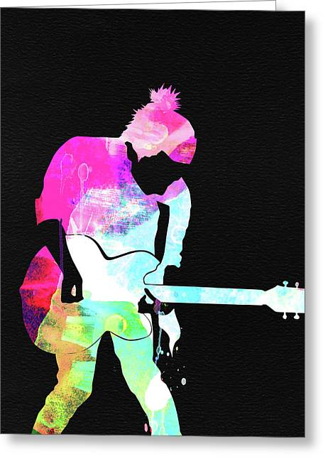 Radiohead Watercolor Greeting Card