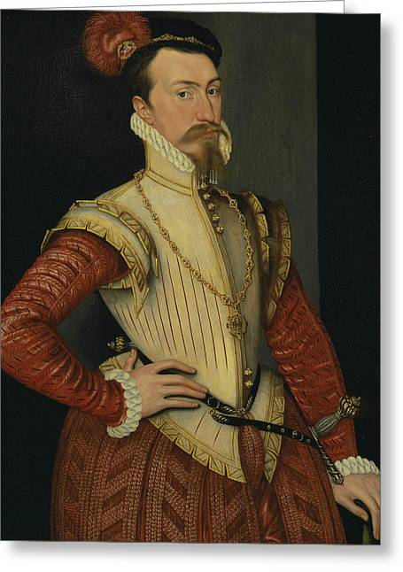 Robert Dudley, 1st Earl Of Leicester Greeting Card